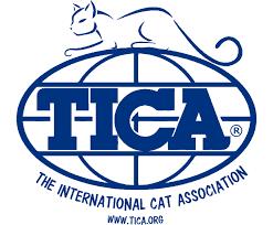 50 Popular Cat Breeds TICA Logo